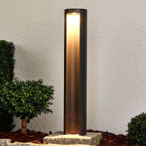 Graphite grey LED path light Jaron