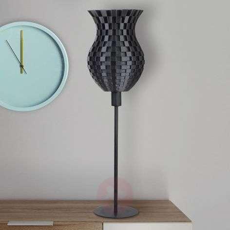 Great Flechtwerk table lamp, 3D print
