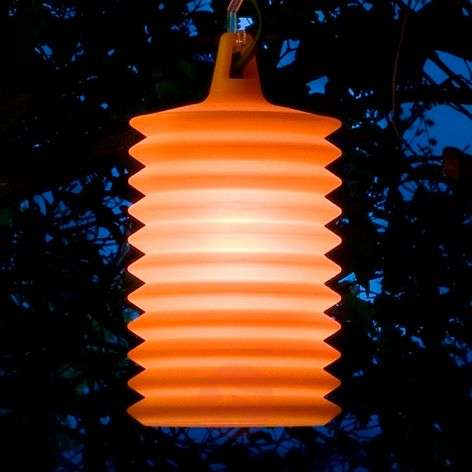 Great LAMPION hanging light for outdoors