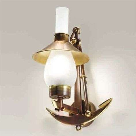 Grecale anchored wall light