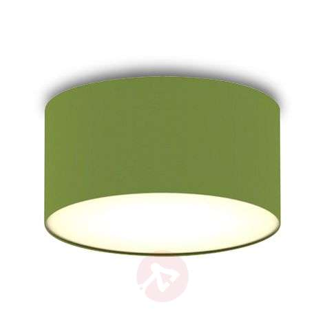 Green fabric ceiling light Ceiling Dream