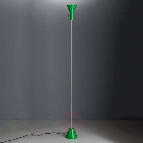 Green LED floor lamp Gru, dimmable-9030222-31