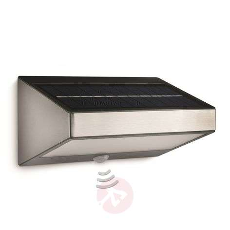 Greenhouse Solar Wall Light with Motion Detector
