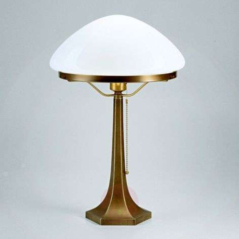 Greta table lamp made of brass