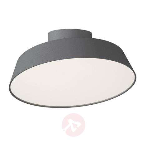 Grey Alba LED ceiling light with pivotable shade-7005962-31