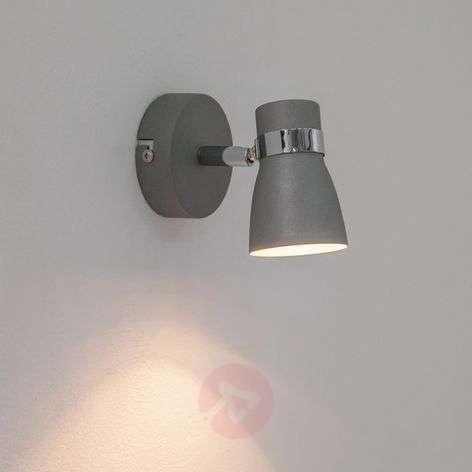 Grey Arjen LED wall light, GU10
