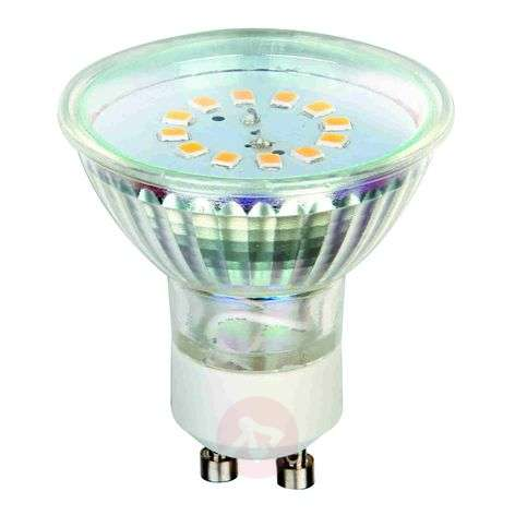 GU10 3W 827 LED reflector bulb 120° set of 2