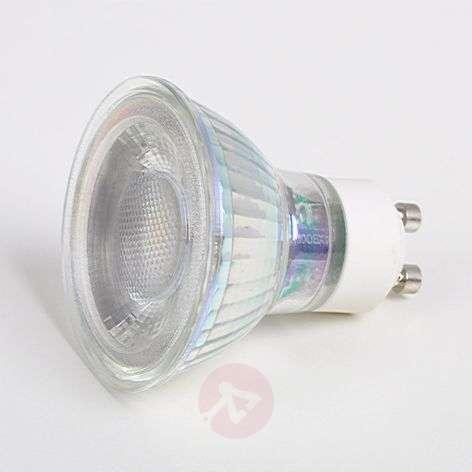 GU10 5 W LED reflector bulb 33°