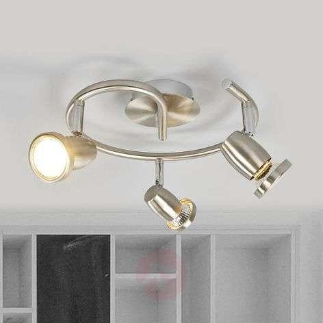 GU10 LED circular ceiling spotlight Celestine