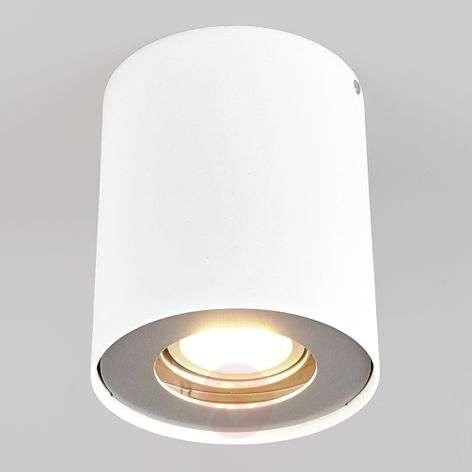 GU10 LED downlight Giliano, 1-bulb, round, white-9975001-31
