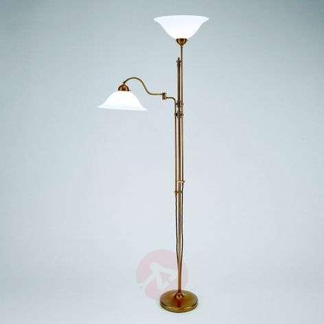 Gustav two-bulb uplighter