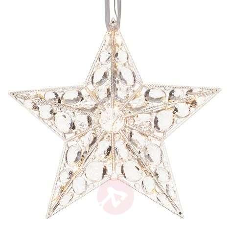 Härnösand decorative LED star light - hanging