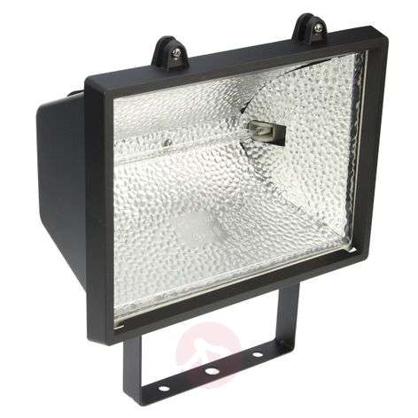 Halogen floodlight with R7s light bulb