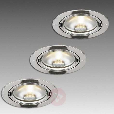 Halogen recessed light ARF 68, set of three
