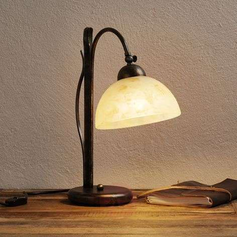 Hand-painted table lamp DANA