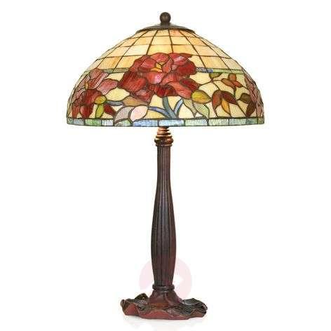 Handmade table lamp Esmee, Tiffany-style