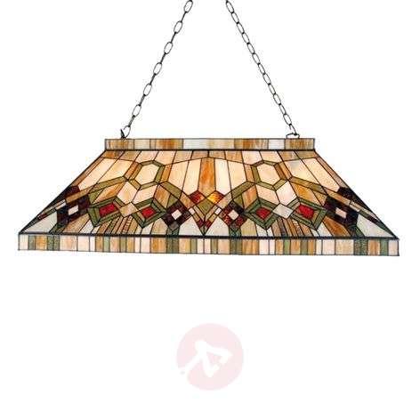 Hanging lamp Kara in the Tiffany style