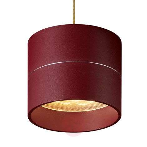 Hanging lamp Tudor S 9.3 cm high matt red