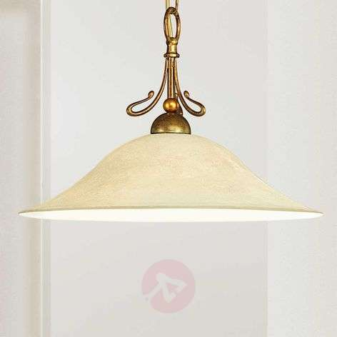 Hanging light Antonio in antique brass