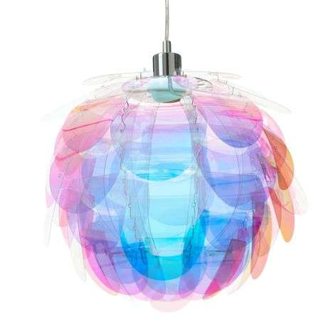 Hanging light Clover in rainbow colours-8029191-31