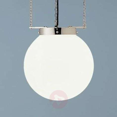 Hanging light in the Bauhaus style, nickel-9030144X-31