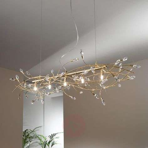 Hanging light Twister gold