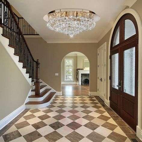 Hanna ceiling light, 55cm, clear