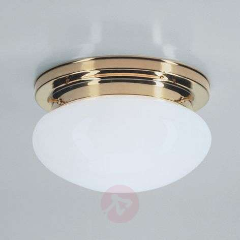 HARRY ceiling light with polished brass