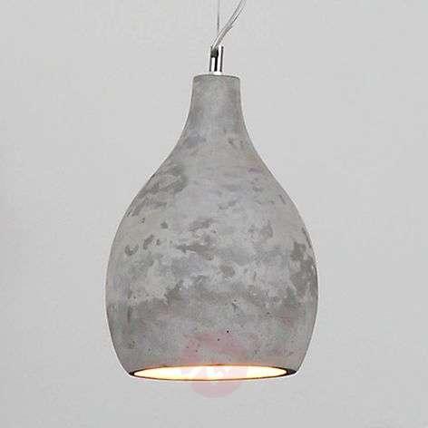 Hatice hanging light concrete grey