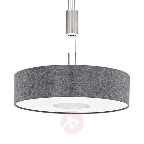 Height-adjustable fabric LED pendant light Romano-3031879-33