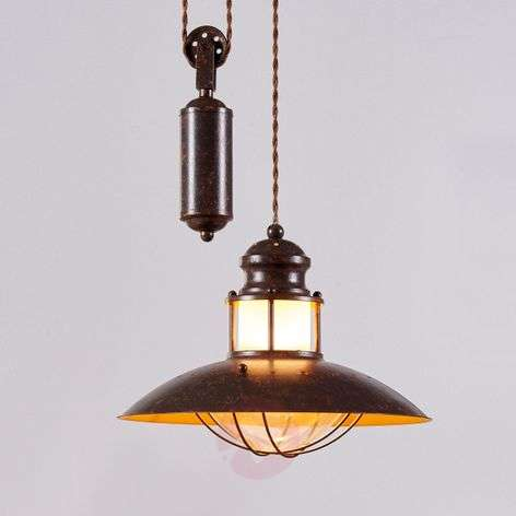 Height-adjustable Louisanne pendant light