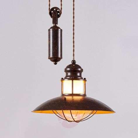 Height-adjustable Louisanne pendant light