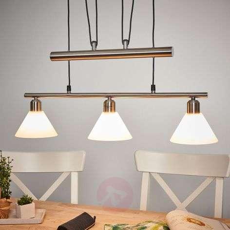Height-adjustable pendant light, multiple bulbs-9003734X-31