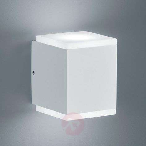 Helestra Kibo - LED outdoor wall light, matt white