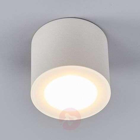 Helestra Oso LED ceiling spot, round, matt white