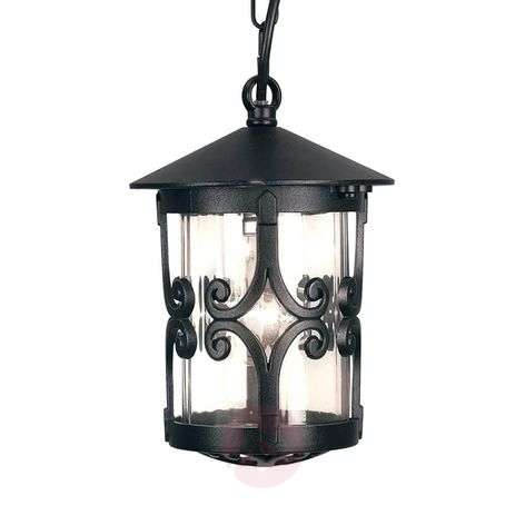 Hereford hanging light with chain suspension