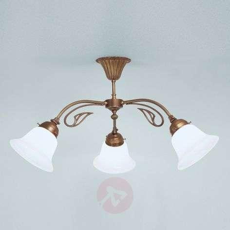 HERTHA ceiling light made of brass