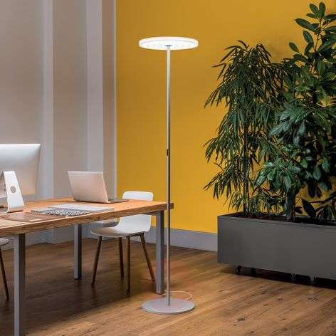High-quality, bright LED floor lamp Round f45