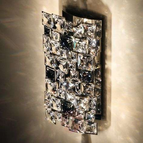 High-quality crystal wall light Mosaix