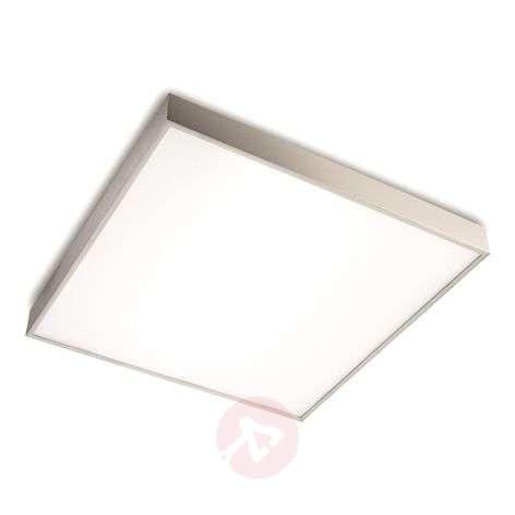 High-quality LED ceiling light Apolo, matt nickel