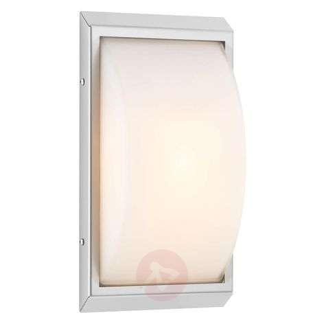 High-quality LED outdoor wall light Malte, sensor