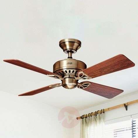 Hunter Bayport ceiling fan, rosewood/oak