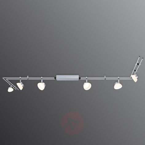 IceLED I -64-bulb track lighting system