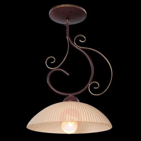 Idella ceiling light with a decorative frame