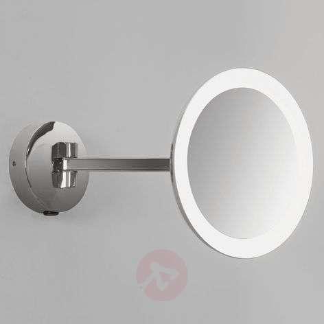 Illuminated wall mirror Mascali with LED