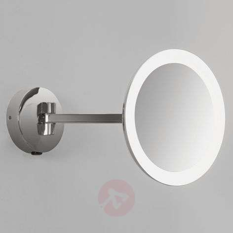 Illuminated wall mirror Mascali with LED-1020532-35