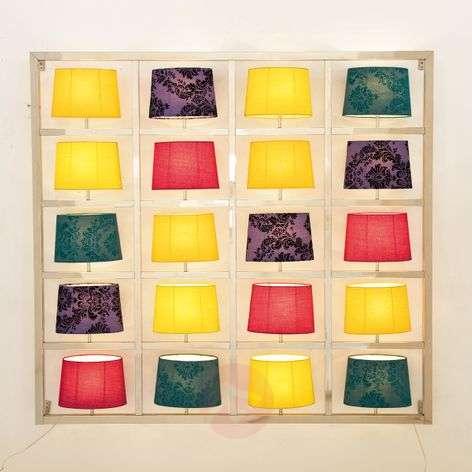 Imaginative wall light PARECCHI 20-bulb