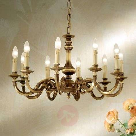 Imke  Chandelier Classic Ten Bulbs