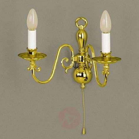 Imke Wall Light Two Bulbs Brass