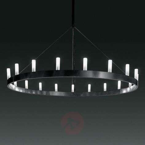 Imposing chandelier Chandelier, black